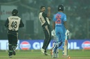 Ish Sodhi was excellent in dewy conditions, India v New Zealand, 1st T20I, Delhi, November 1, 2017