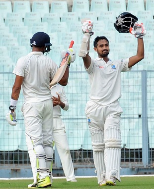 Abhishek Raman struck an excellent century