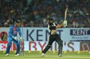 Martin Guptill went big fairly often, India v New Zealand, 2nd T20I, Rajkot, November 4, 2017