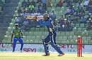 Kumar Sangakkara played a laboured innings, Sylhet Sixers v Dhaka Dynamites, BPL 2017-18, Sylhet, November 4, 2017