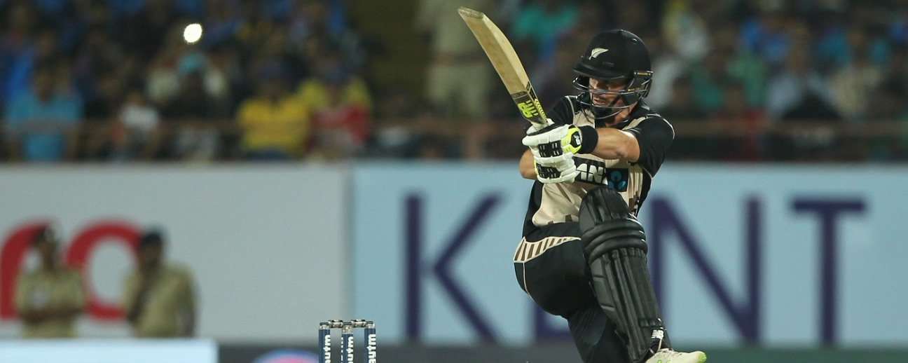 Colin Munro made the best use of a flat pitch