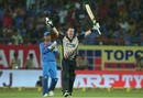 Colin Munro clobbered his second T20I hundred, India v New Zealand, 2nd T20I, Rajkot, November 4, 2017