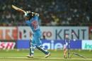 Trent Boult found a way past Shikhar Dhawan's defense, India v New Zealand, 2nd T20I, Rajkot, November 4, 2017