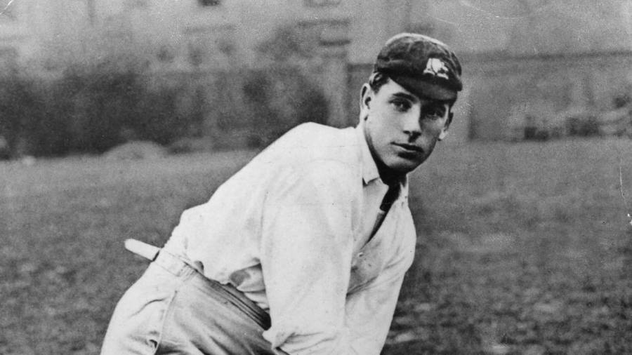 Clem Hill made a hundred from No. 9 for Australia in 1908, gastric flu and all