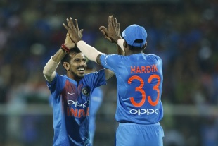 Yuzvendra Chahal's ploy of bowling wide worked wonders