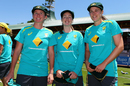 Beth Mooney, Amanda-Jade Wellington and Tahlia McGrath were handed their Baggy Greens, Australia v England, Women's Ashes 2017-18, Only Test, 1st day, Sydney, November 9, 2017