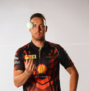 Kyle Abbott at a Khulna Titans promo shoot, October 2017