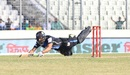 Ravi Bopara pulls out a full-length dive, Rangpur Riders v Rajshahi Kings, BPL 2017-18, Dhaka, November 11, 2017
