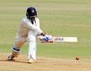 Swapnil Singh unfurls a reverse sweep, Mumbai v Baroda, Ranji Trophy 2017-18, Group C, 3rd day, Mumbai, November 11, 2017