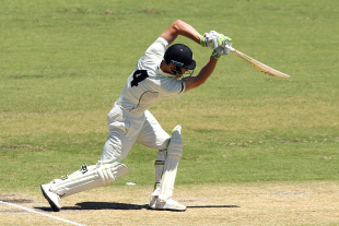 Cameron Bancroft plays a picture-perfect drive