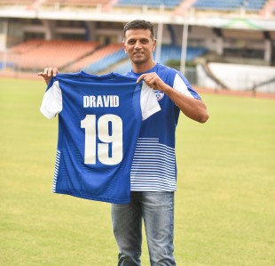 Rahul Dravid became the ambassador of Bengaluru FC
