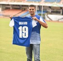 Rahul Dravid became the ambassador of Bengaluru FC, Bengaluru, November 14, 2017
