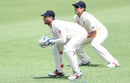 Ben Foakes took over keeping duties when Jonny Bairstow was off the field, Cricket Australia XI v England, The Ashes 2017-18, tour match, 1st day, Townsville, November 15, 2017