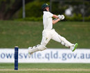 Daniel Fallins played some shots late in the day, Cricket Australia XI v England, The Ashes 2017-18, tour match, 1st day, Townsville, November 15, 2017