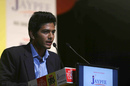 Chand back in 2012, addressing a youth summit, when everybody wanted a piece of him