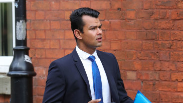 Shiv Thakor arrives for his court appearance