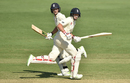 Joe Root and Dawid Malan run between the wickets, Cricket Australia XI v England, The Ashes 2017-18, Tour match, 2nd day, Townsville, November 16, 2017