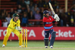 Danielle Wyatt propped up England with a fifty