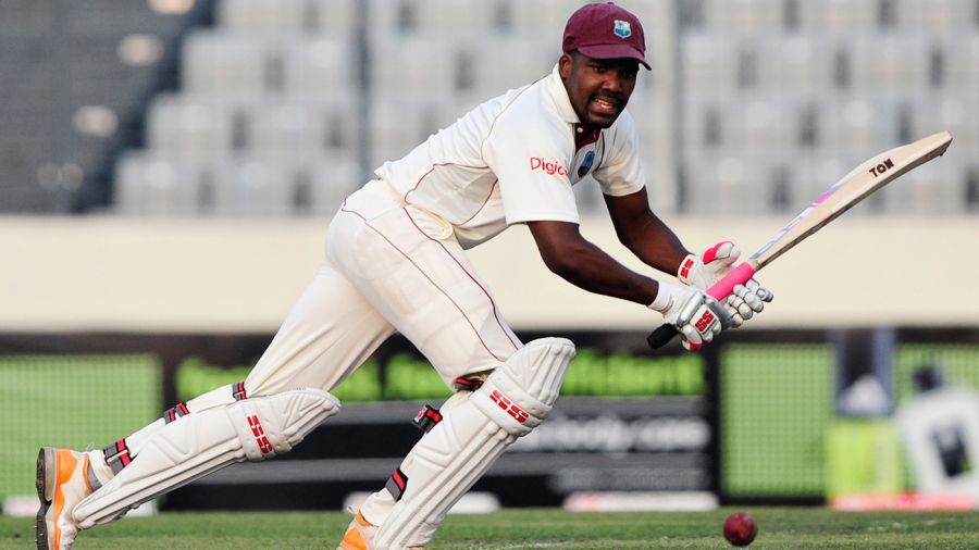 Darren Bravo's maiden Test hundred was so nearly a double