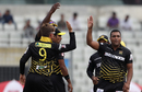 Samit Patel ended with impressive figures of 2-0-6-1, Rajshahi Kings v Sylhet Sixers, BPL 2017, Dhaka, November 17, 2017