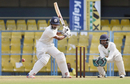 Bavanaka Sandeep shapes to play a shot, Hyderabad v Assam, Ranji Trophy 2017-18, 1st day, Guwahati, November 17, 2017