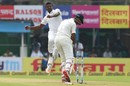 Lahiru Gamage breached Cheteshwar Pujara's defense, India v Sri Lanka, 1st Test, 3rd day, Kolkata, November 18, 2017