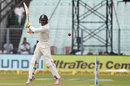 Ravindra Jadeja slashes through point, India v Sri Lanka, 1st Test, 3rd Day, Kolkata, 18 November, 2017