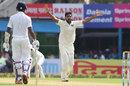 Bhuvneshwar Kumar appeals for lbw, India v Sri Lanka, 1st Test, 3rd Day, Kolkata, 18 November, 2017