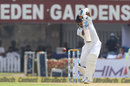 Sadeera Samarawickrama drives down the ground, India v Sri Lanka, 1st Test, 3rd Day, Kolkata, 18 November, 2017