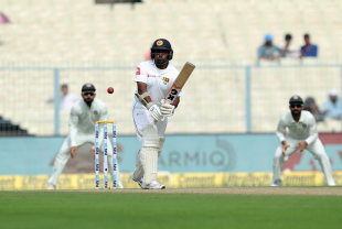 Rangana Herath guides one onto the leg side