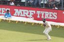 Mohammed Shami takes the catch of Rangana Herath, India v Sri Lanka, 1st Test, 4th Day, Kolkata, 19 November, 2017