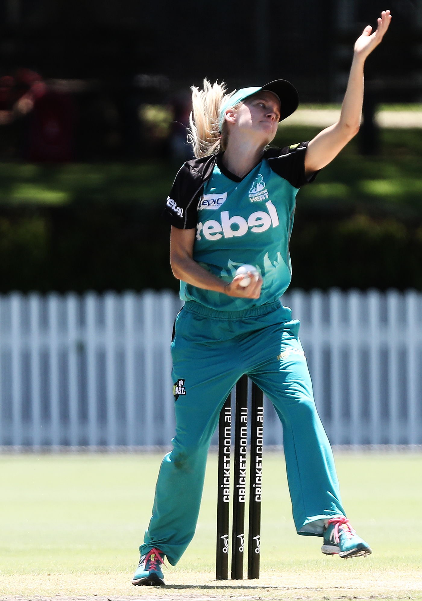 Jemma Barsby tried her hand at left-arm bowling as a way to prevent her brother from scoring endlessly during a backyard game
