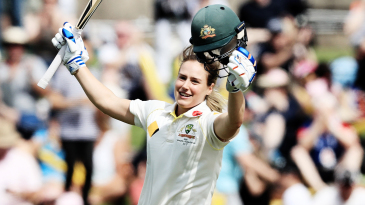 Ellyse Perry holds the record for Australia's highest women's Test score