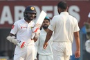 Niroshan Dickwella and Mohammed Shami got in each other's faces, India v Sri Lanka, 1st Test, Kolkata, 5th day, November 20, 2017