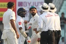 Tempers flared while Niroshan Dickwella was at the crease, India v Sri Lanka, 1st Test, Kolkata, 5th day, November 20, 2017