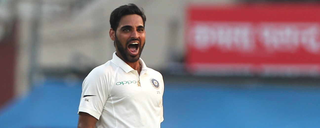 Bhuvneshwar Kumar bowled some unplayable deliveries