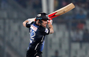 Brendon McCullum flays one through the off side, Dhaka Dynamites v Rangpur Riders, BPL 2017-18, Dhaka, November 21, 2017