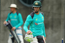 Tim Paine takes part in the batting net sessions, Brisbane, November 22, 2017