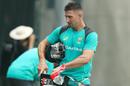 Shaun Marsh leaves the nets at The Gabba, Australia v England, 1st Test, Brisbane, November 22, 2017