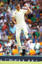 Mitchell Starc struck in his second over to remove Alastair Cook, Australia v England, 1st Test, The Ashes 2017-18, 1st day, Brisbane, November 23, 2017