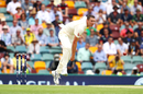 Josh Hazlewood in his follow through, Australia v England, Australia v England, 1st Test, The Ashes 2017-18, 1st day, Brisbane, November 23, 2017