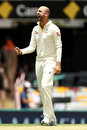 Nathan Lyon earned reward for his impressive display, Australia v England, 1st Test, Brisbane, 2nd day, November 24, 2017