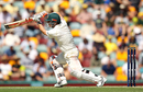 David Warner leans into a drive, Australia v England, The Ashes 2017-18, 1st Test, Brisbane, 2nd day, November 24, 2017