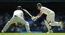 Steven Smith plays a flick on the leg side, Australia v England, The Ashes 2017-18, 1st Test, Brisbane, 2nd day, November 24, 2017