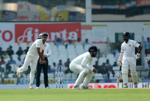 Ashwin gave the ball plenty of revs in the post-lunch session