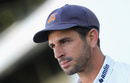 Ryan ten Doeschate talks to the media after Essex's win, Warwickshire v Essex, County Championship Division One, Edgbaston, September 14, 2017