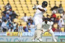 Dimuth Karunaratne weathered a testing first morning, India v Sri Lanka, 2nd Test, Nagpur, 1st day, November 24, 2017
