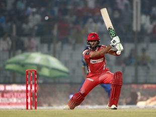 Sikandar Raza blasted a career-best 95