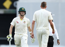 Steven Smith exchanged some verbal volleys with Jake Ball, Australia v England, The Ashes 2017-18, 1st Test, Brisbane, 3rd day, November 25, 2017
