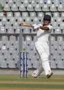 Manisankar Murasingh brings out the pull, Mumbai v Tripura, Ranji Trophy 2017-18, Group C, Mumbai, 1st day, November 25, 2017